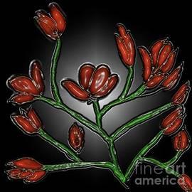 Red Blossom by Latha Gokuldas Panicker