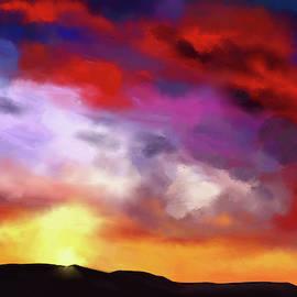 Red Clouds by Tanja Udelhofen
