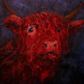 Red Cow by Jacob R