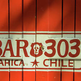 David Smith - Red Door in Arica Chile