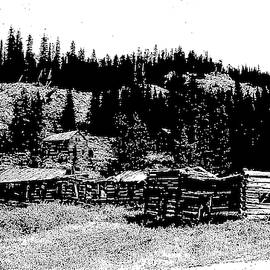 Red Lion Ghost Town Montana by Kevin Heaney