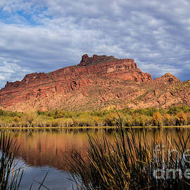 Red Mountain on a Cloudy Day by Kathy McClure