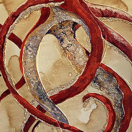 Red Octopus by Christy Freeman Stark