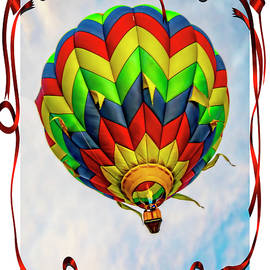 Red Ribbon Balloon Race  by LeeAnn McLaneGoetz McLaneGoetzStudioLLCcom