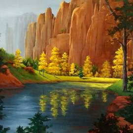 Red Rock Autumn  by Danett Britt