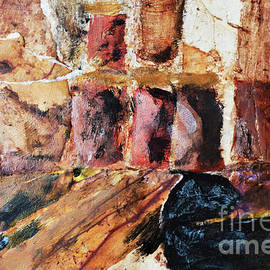 Red Rock Caves by Sharon Williams Eng