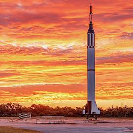 Redstone At Dawn by Gordon Elwell
