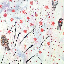 Redwings by Cheryle Gannaway