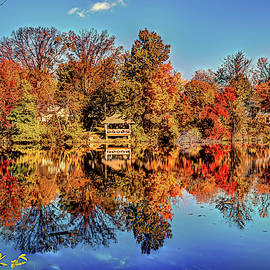 Reflections at TCNJ - The College of New Jersey by Geraldine Scull