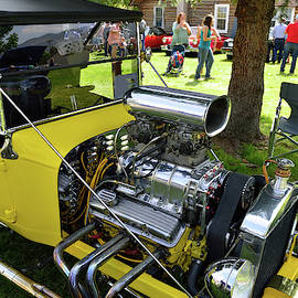 Dazzling Yellow - Car Show Photo by Kae Cheatham