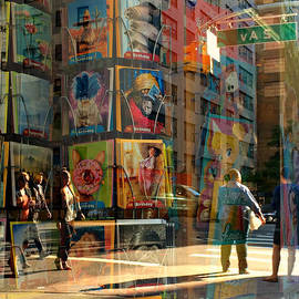 Miriam Danar - Reflections in a Glass - City View 1