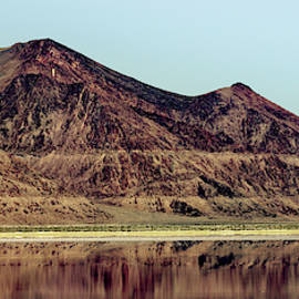 Reflections In The Great Salt Lake by Jim Thompson