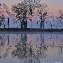 Reflections On The Lake by Ken Johnson