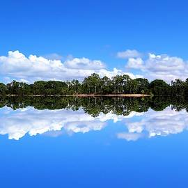 Reflective Lake Patricia by Joan Stratton