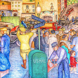Remastered Art San Francisco Coit Tower Mural 20190419 long by Wingsdomain Art and Photography