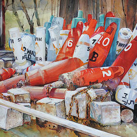 Resting Channel Markers by P Anthony Visco