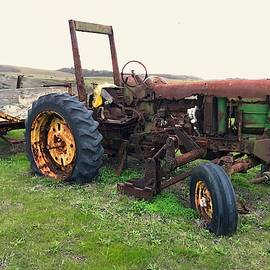 Retired Farm Tractor by Christina Ford