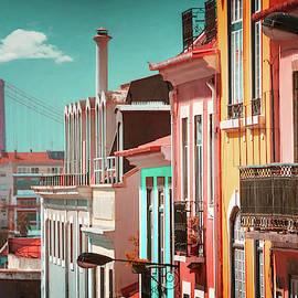 Retro Lisbon Portugal  by Carol Japp