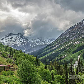 Returning From White Pass Summit by Robert Bales