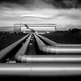 Reykjanesvirkjun by Dave Bowman