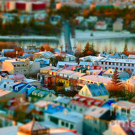 Reykjavik city by Debra Banks