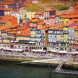 Ribeira Waterfront Porto Portugal