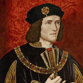 Richard IIi  Oil On Panel by English School