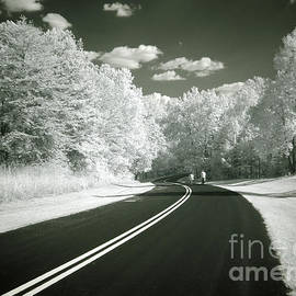 Riding Along the Infrared Highway by Rodger Painter