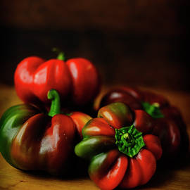 Ripening Peppers by Cassi Moghan
