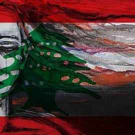 Rise Up Lebanon  by Christel Roelandt