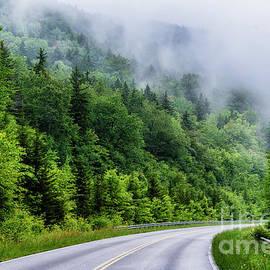 Rising Mist Highland Scenic Highway by Thomas R Fletcher