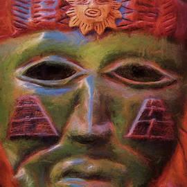 Ritual Mask by Marcia Colelli