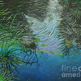 River ...ripples And Reeds by Bob Williams