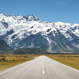 Road Trip in the Southern Alps by Racheal Christian