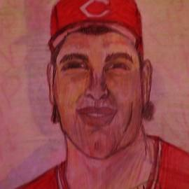 Rob Dibble Cincinnati Reds by Christy Saunders Church