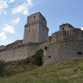 Rocca Maggiore Fortress in Assisi by Aicy Karbstein