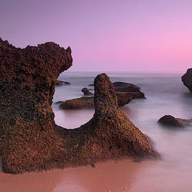 Roche reefs. Cadiz. Spain. At sunset by Guido Montanes Castillo