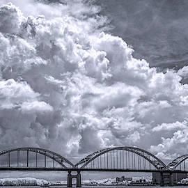 Rock Island Centennial Bridge by Jerry Fornarotto