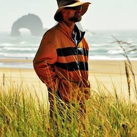 Bumble Bee Jacket - Rockaway Beach - Oregon by Beautiful Oregon