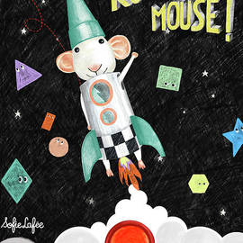 Rocket Mouse by Sofielafee Little things x little ones