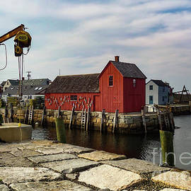 Rockport Fish House by Norma Brandsberg