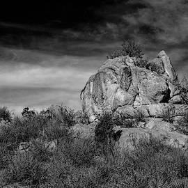 S Katz - Rocky outcrop
