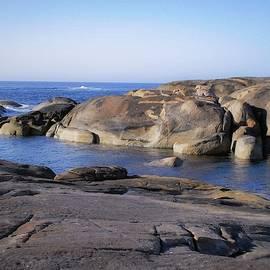 Tania Read - Rocky Seascape