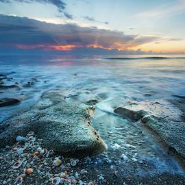 Rocky Sunrise by Debra and Dave Vanderlaan