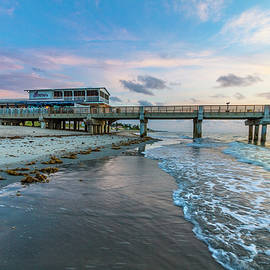 Rolling In along Lake Worth Beach by Debra and Dave Vanderlaan