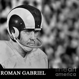 Roman Gabriel of the Los Angeles Rams by Jim Fitzpatrick