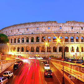 Rome At Night by Douglas Taylor