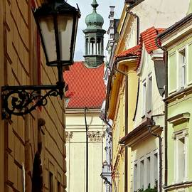 Rooftops Of Old Town Prague by Ira Shander