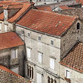Rooftops of Trogir by Norman Gabitzsch