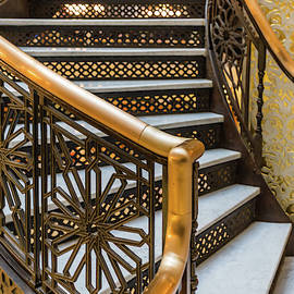 Rookery Building Staircase details by See More Photography